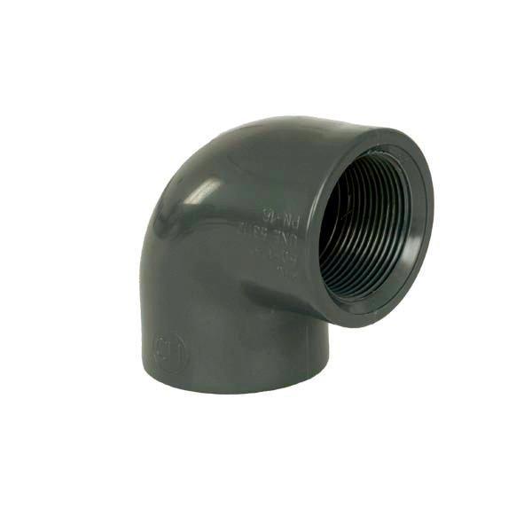 """PVC tvarovka - Úhel 90° 75 x 2 1/2"""" int."""