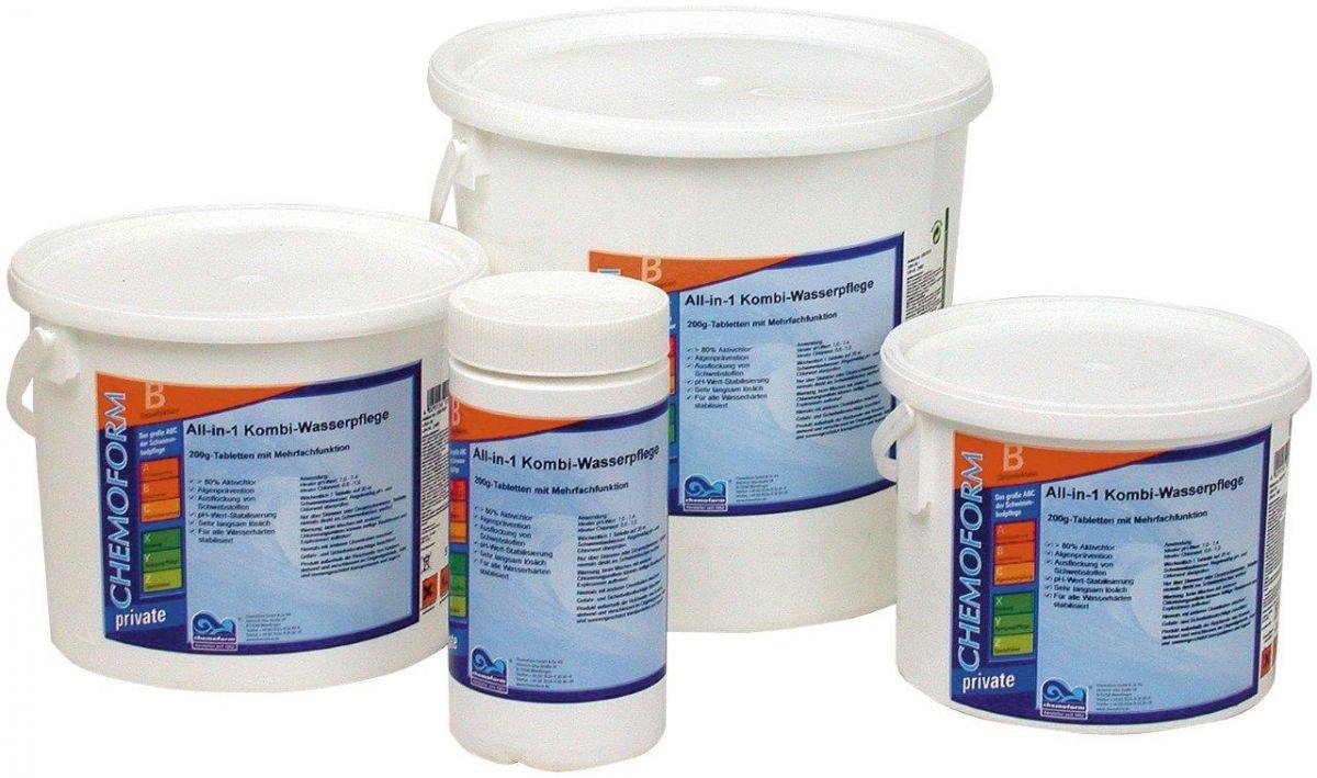 BST - bazénové super tablety maxi - 3 kg