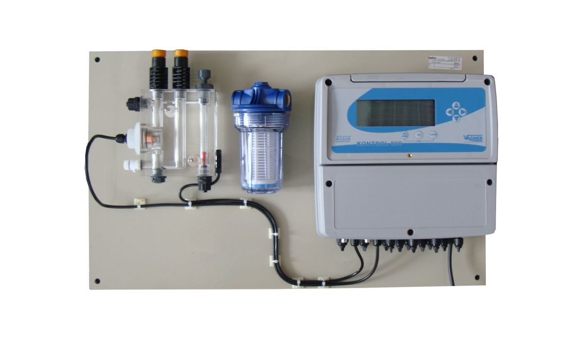 Dávkovací stanice SEKO K800 - pH/ORP/Cl volný + 2x peristaltická dávkovací pumpa
