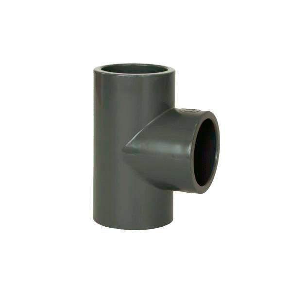PVC tvarovka - T-kus 90° 125 mm