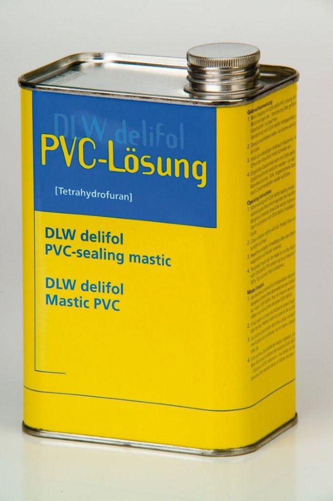 DLW Delifol - tekutá PVC fólie - černá, 1 kg
