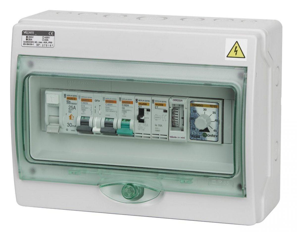 Automatické ovládání pro filtraci/výměník/protiproud - F1VP3