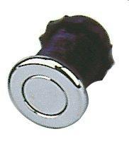 Pneumatické tlačítko CHROM (nevystouplé)