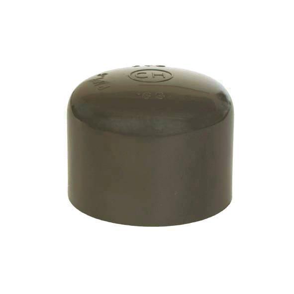 PVC tvarovka - Zátka 160 mm