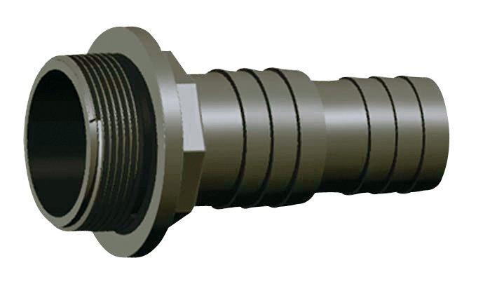 """PVC tvarovka - Trn hadicový 32/38 x 1 1/2"""" + O-kroužek"""