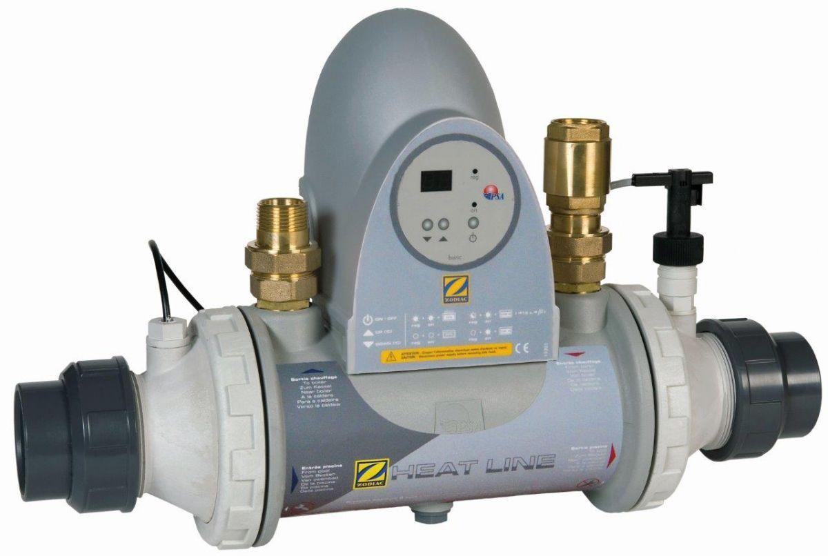 Tepelný výměník ZODIAC HEAT LINE Kompakt bez oběhového čerpadla%pipe% Titan 70 kW
