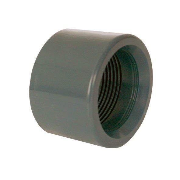"""PVC tvarovka - Redukce krátká vkládací se závitem 25 x 3/8"""" int."""