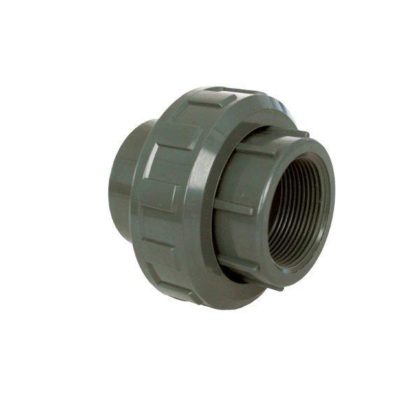 """PVC tvarovka - Šroubení 50 x 1 1/2"""" int."""
