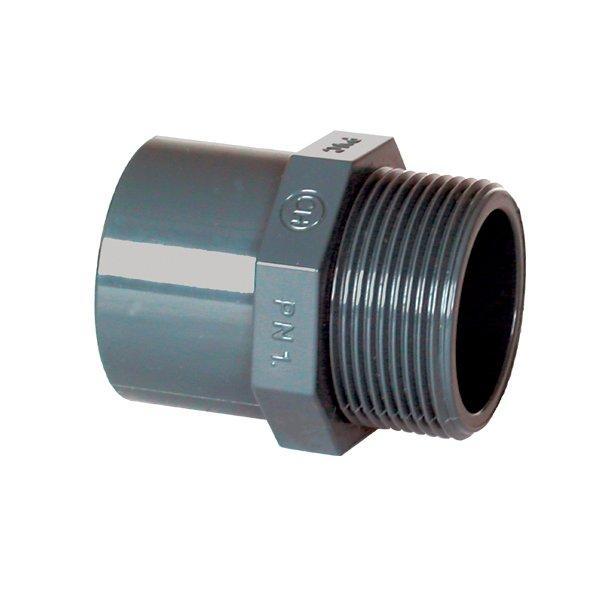 "PVC tvarovka - Přechodka 50--40 x 1 1/2"" ext."