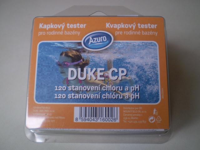 DUKE CP kapičkový tester pro měření Cl/pH