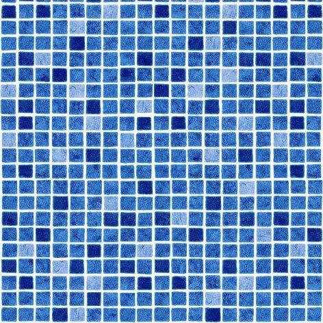 AVfol Decor - Mozaika Modrá%pipe% 1,65m šíře, 1,5mm, metráž
