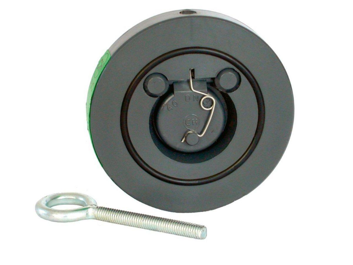 Zpětná klapka s pružinou 315 mm
