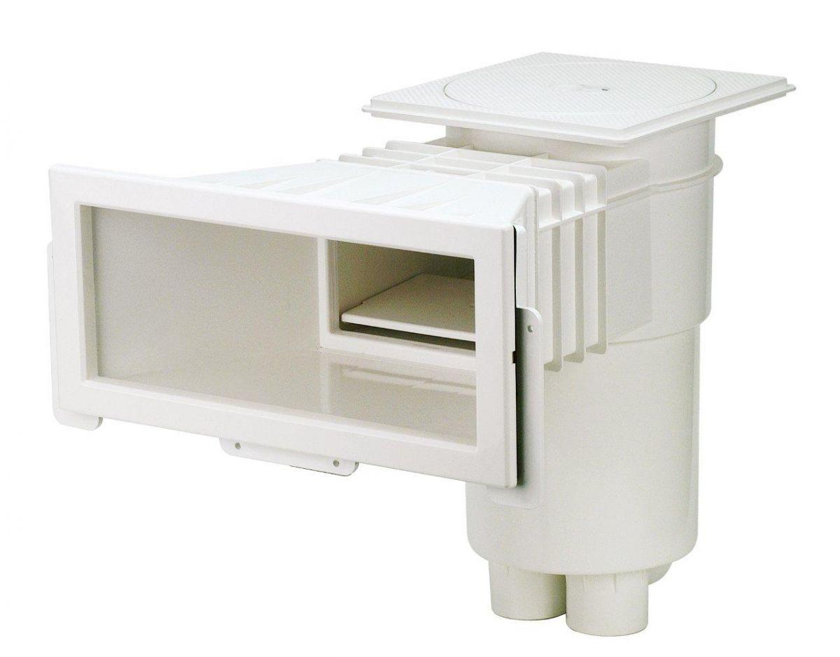 Skimmer VA, sání 406 mm x 160 mm, pro fólie, s mosaznými zástřiky