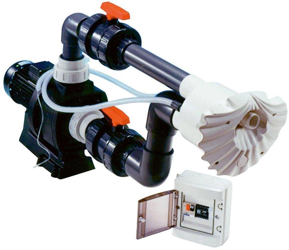 Protiproud K-JET Sena -- 40 m3/h, 400 V, 2,3 kW, pro fólii a předvyrobené baz.