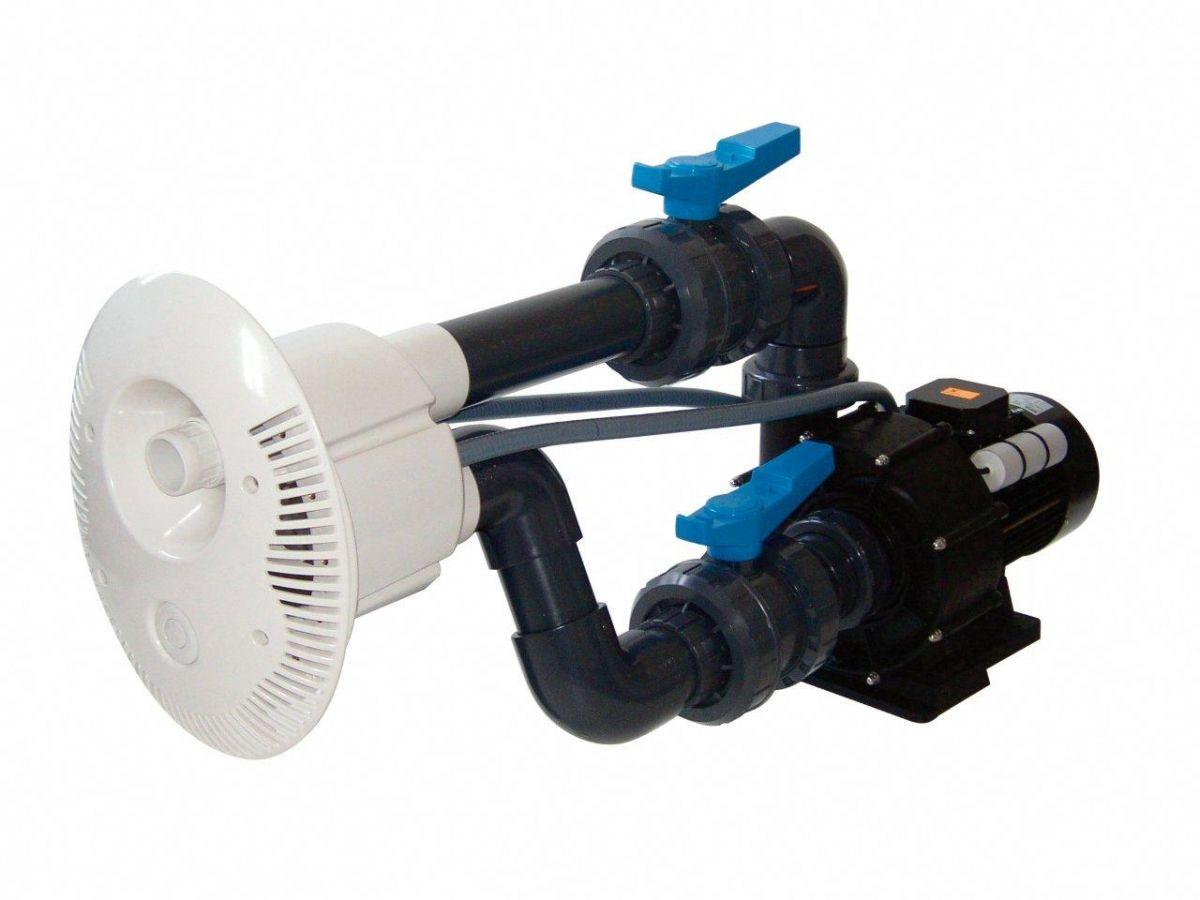 Protiproud V-JET 66 m3/h, 400 V, 2,2 kW, pro fóliové a předvyrobené baz. potrubí d= 75 mm