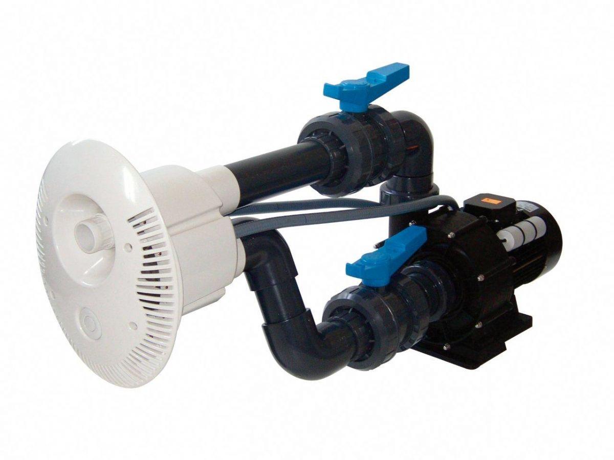 Protiproud V-JET 84 m3/h, 400 V, 4,1 kW, pro fóliové a předvyrobené baz. potrubí d= 75 mm