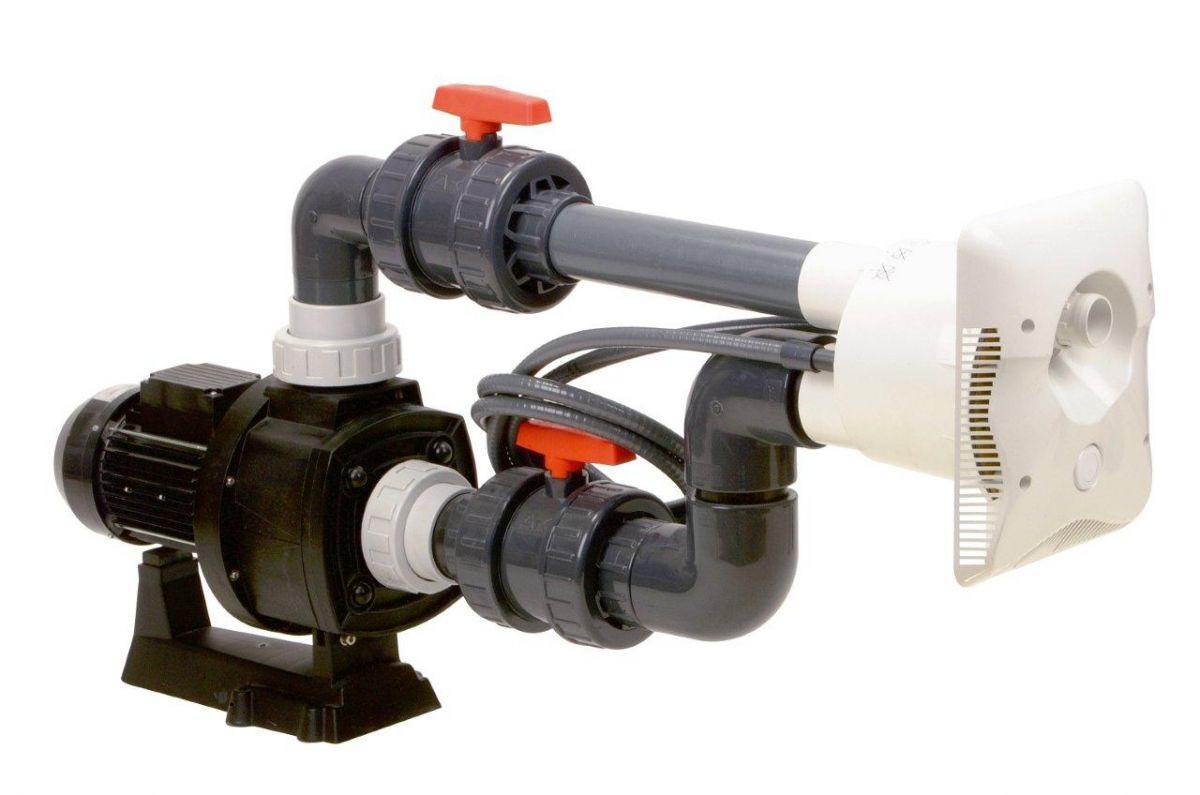 Protiproud K-JET Calipso -- 40 m3/h, 400 V, 2,3 kW, pro fólii a předvyrobené baz.