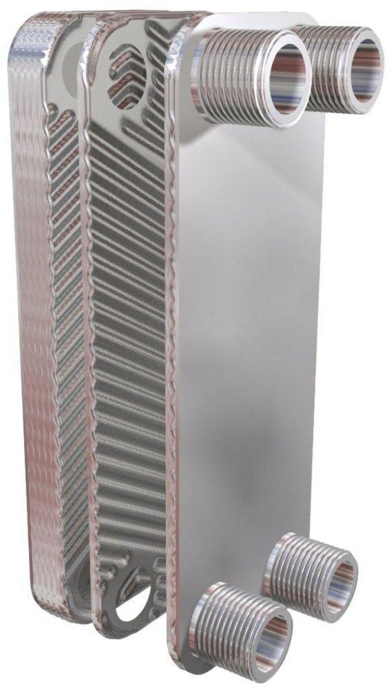 Dvouplášťový deskový výměník OVBDD 62, 62 kW