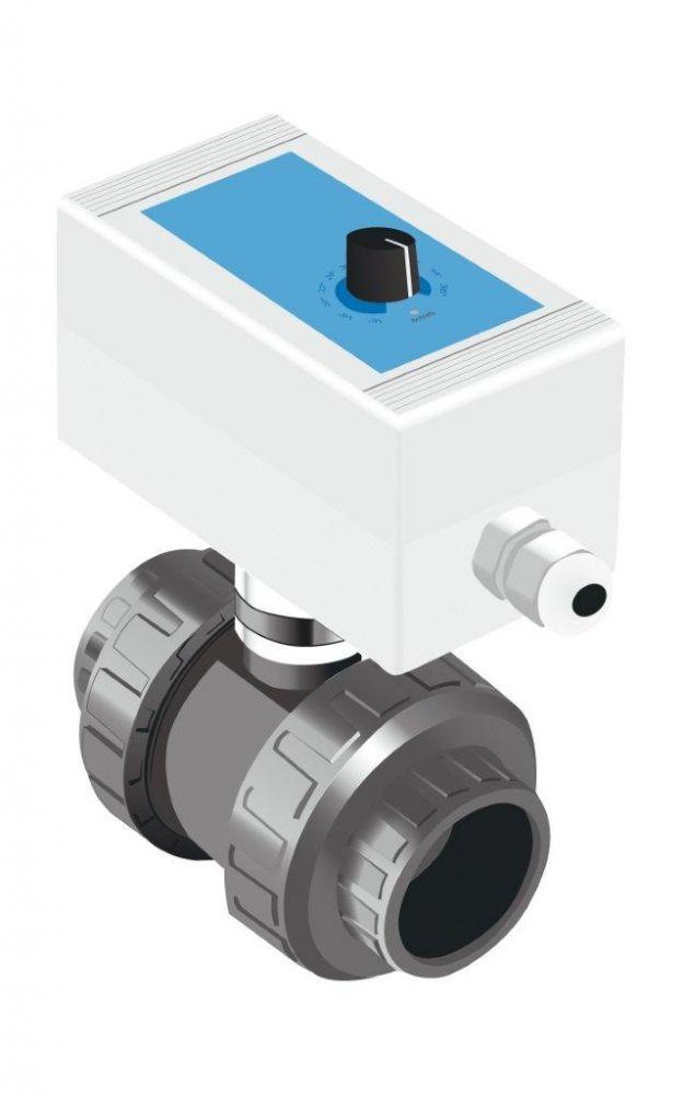 Solar Control SC Compact -- el. 2-cestný ventil s teplotním regulátorem