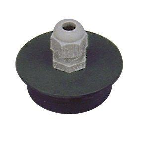 PVC tvarovka - Přechodka-PUK 50/Pg13,5 s vývodkou
